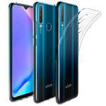 Flexi Slim Gel Case for Vivo Y17 / Y12 - Clear (Gloss Grip)